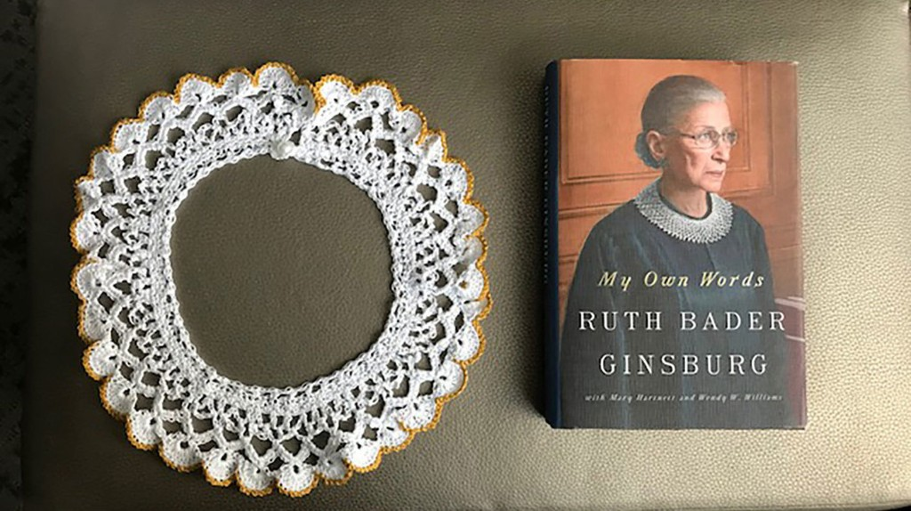 Ruth Bader Ginsburg's Iconic Collar To Go On Display In Israel