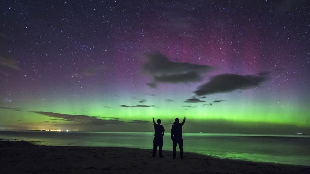 Stunning And Amazing: Northern Lights Wow U.K.