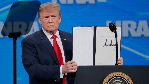 Trump Moves To Withdraw U.S. From U.N. Arms Trade Treaty