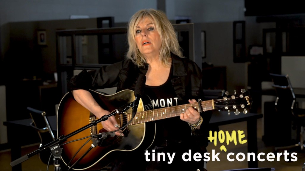 Lucinda Williams: Tiny Desk (Home) Concert