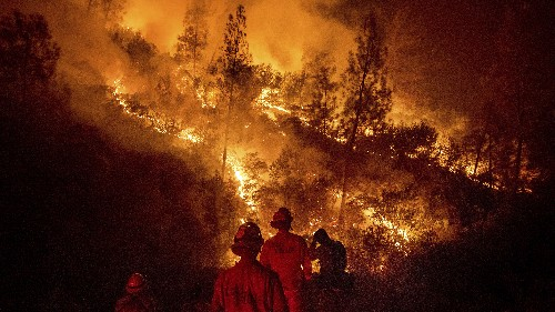 Trump Claims California Is Wasting Water That Could Be Used To Fight Wildfires