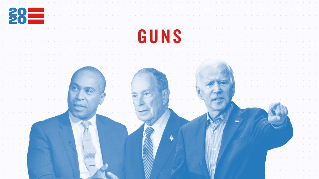 See Where Democratic Candidates Unite And Differ On Gun Policy