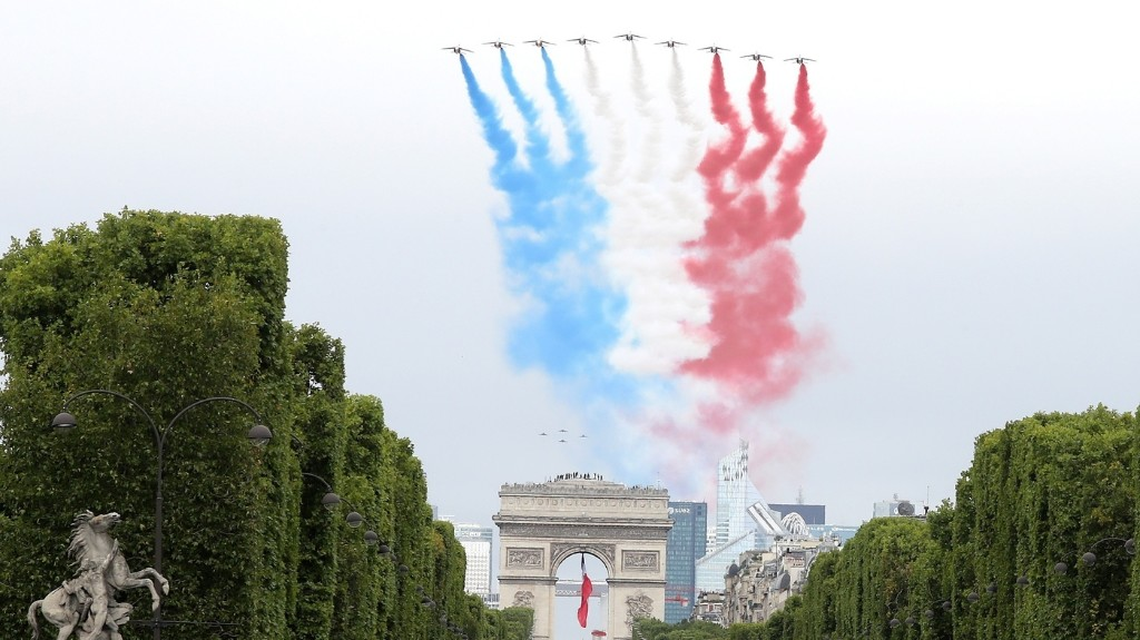 French Health Care Workers Given A Raise, Honored On Bastille Day