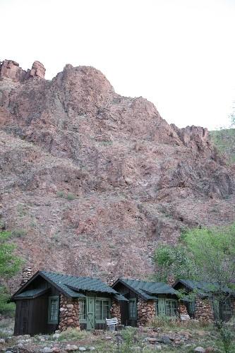 Life Below The Rim Of The Grand Canyon At Phantom Ranch