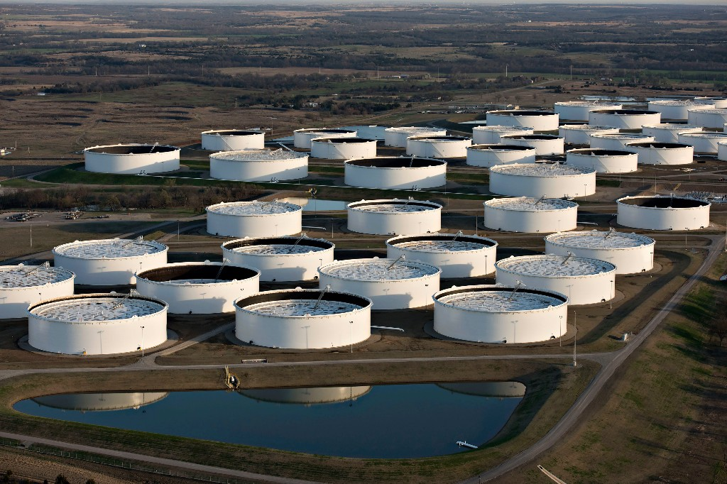 With So Much Oil Flowing, U.S. May Be Reaching Storage Limits