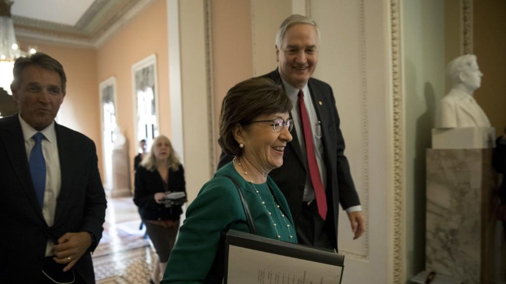 Doubts Rise About Sen. Collins' Strategy To Shore Up Insurance Market