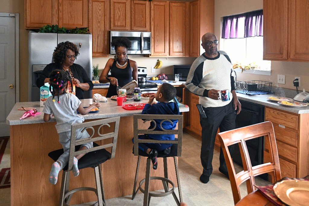How Multigenerational Families Manage 'Social Distancing' Under One Roof