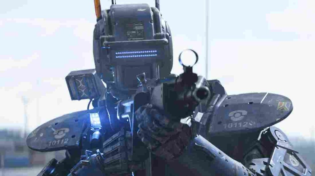 'Chappie,' A Fighting Robot In A Film That's A Disappointing Copy
