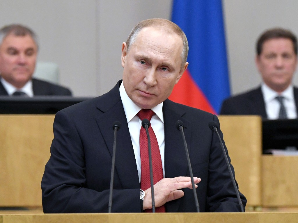 Putin Could Stay President Until 2036 Under New Proposal