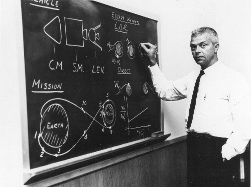 Meet John Houbolt: He Figured Out How To Go To The Moon, But Few Were Listening