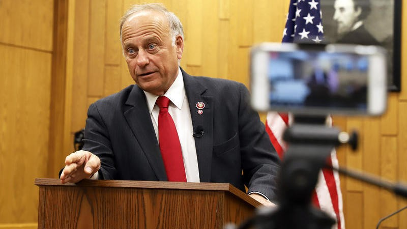 Rep. Steve King Fights For His Seat As GOP Works To Push Him Out