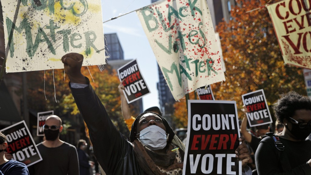 Trump Push To Invalidate Votes In Heavily Black Cities Alarms Civil Rights Groups