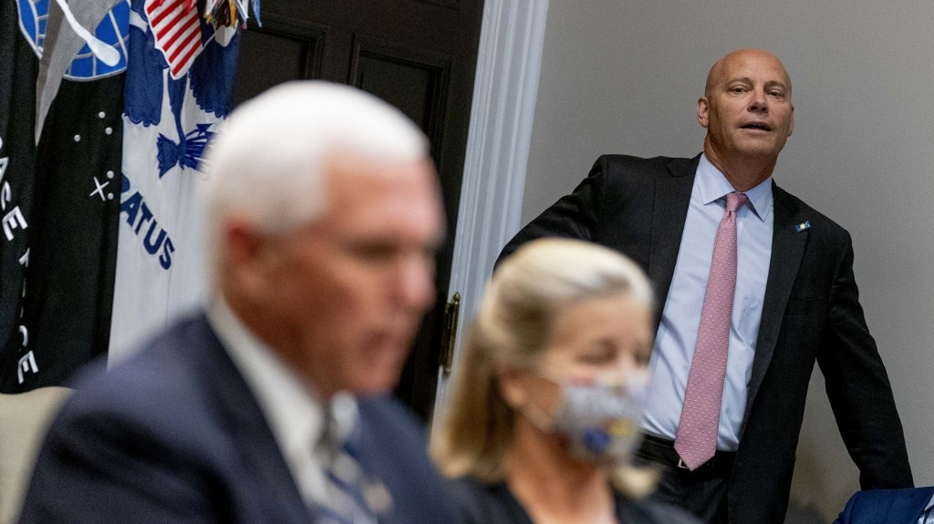 Pence's Chief Of Staff Has The Coronavirus. Pence Will Continue To Campaign