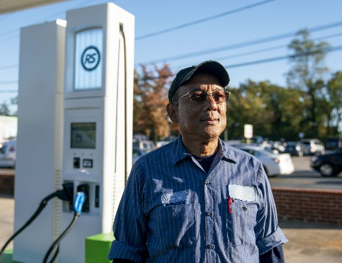 Gas Station Converts To Electric Charging Station And Speeds Ahead Of Curve