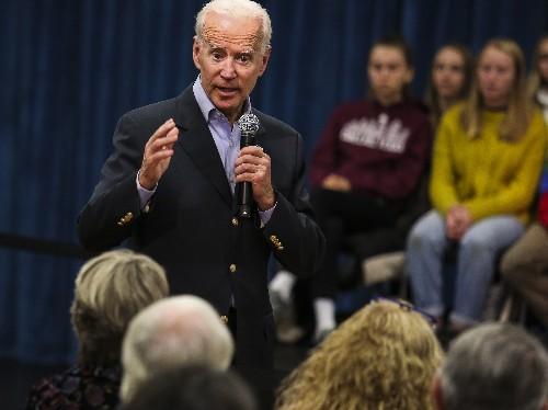 In Tense Exchange, Biden Calls Iowa Voter A 'Damn Liar,' Challenges Him To IQ Test