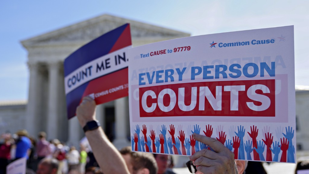 Supreme Court Speeds Up Case On Trump's Push To Alter Census For House Seats