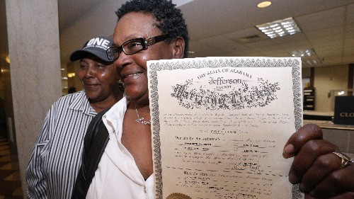 Same-Sex-Marriage Flashpoint: Alabama Considers Quitting The Marriage Business
