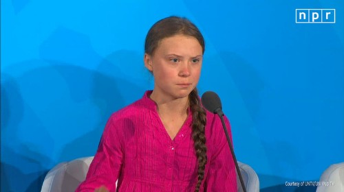 'This Is All Wrong,' Greta Thunberg Tells World Leaders At U.N. Climate Session