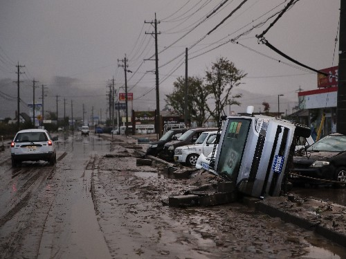 Death Toll Climbs After Typhoon Hits Japan