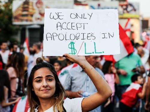 Protesters Continue To Fill Streets Of Lebanon, United By Their Calls For Change