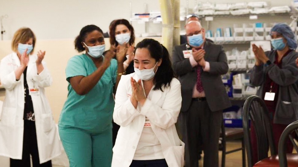 Family Ordeal Catapults A Young Filipina To The U.S. — And The Pandemic Front Lines