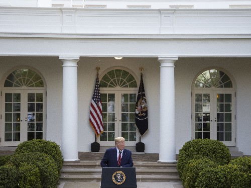 'Challenging Times Are Ahead,' Trump Says Of Extended Social Distancing Guidelines
