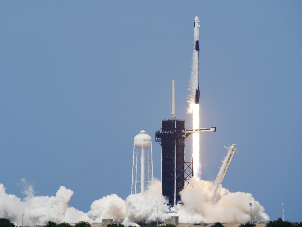NASA And SpaceX Launch First Astronauts To Orbit From U.S. Since 2011