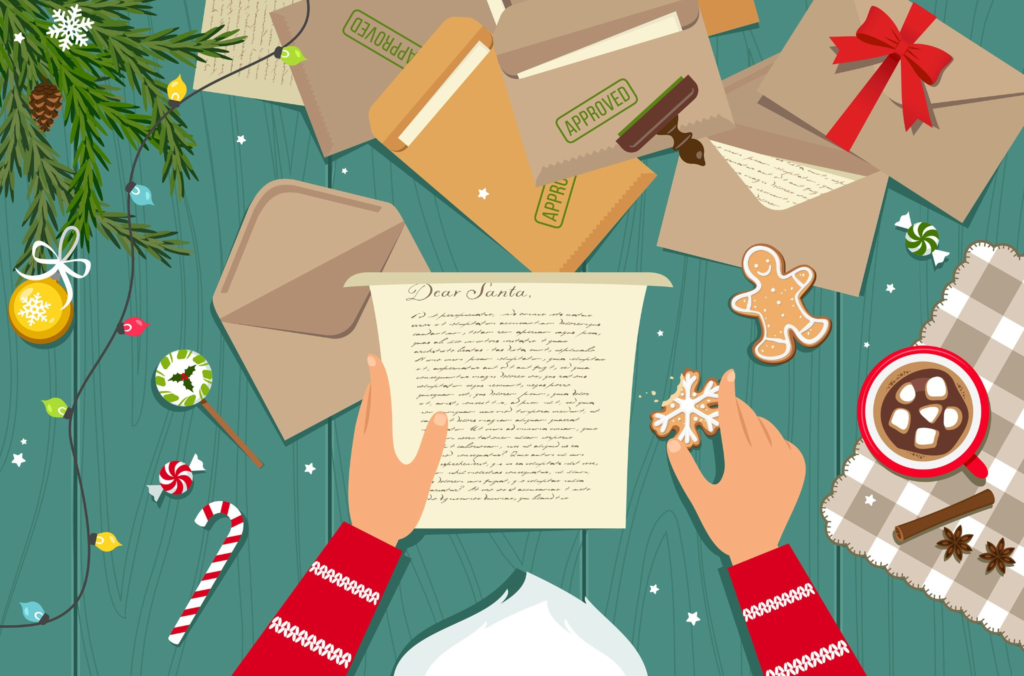 Whiskey And Fufu: What Kids Around The World Leave Out For Santa