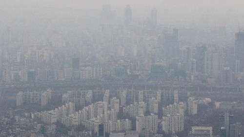 Korea's Air Is Dirty, But It's Not All Close-Neighbor China's Fault
