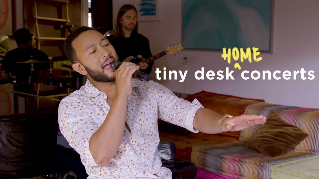 John Legend: Tiny Desk (Home) Concert