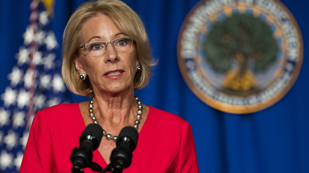 Education Dept. Announces It Won't Punish Colleges For Reconsidering Student Aid