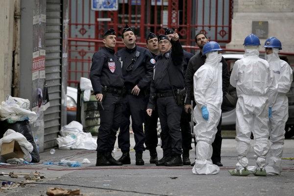 Paris Terrorist - Magazine cover