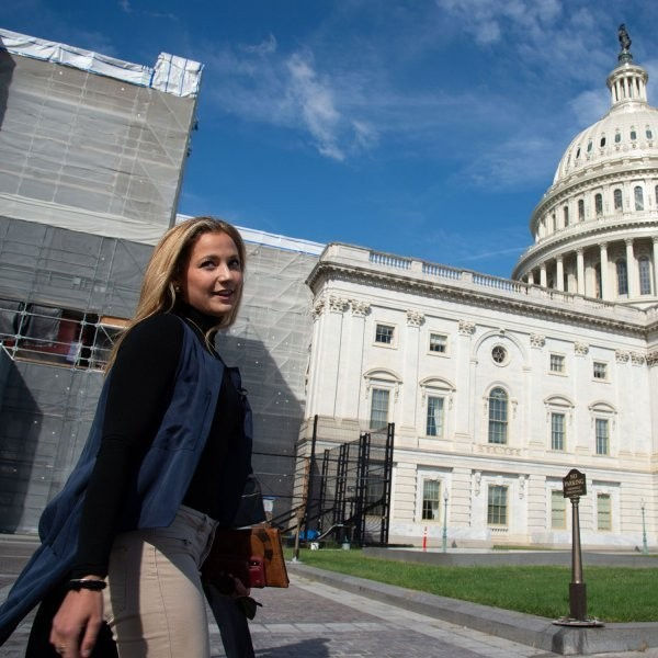 Why Sasha DiGiulian Lobbies Congress in Her Free Time