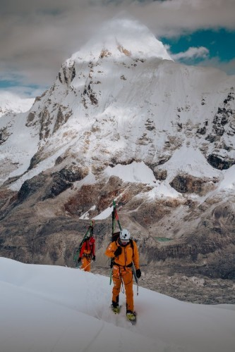 How Hilaree Nelson and Jim Morrison Skied Lhotse