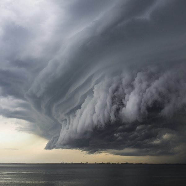WATCH: Supercell Storm Time-Lapse