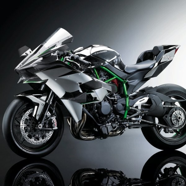 The Kawasaki Ninja H2R
