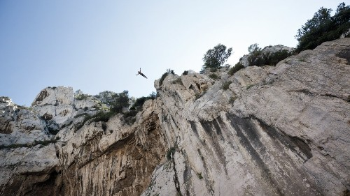 The Grace and Serenity of the World's Greatest Cliff Diver