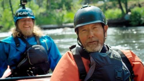 The Kayaker and the Angler