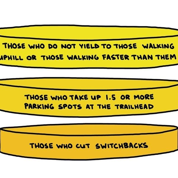 The Nine Circles of Hiker Hell