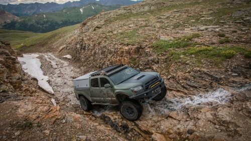 Driving Colorado's Most Beautiful Roads in the Country's Most Badass Toyotas