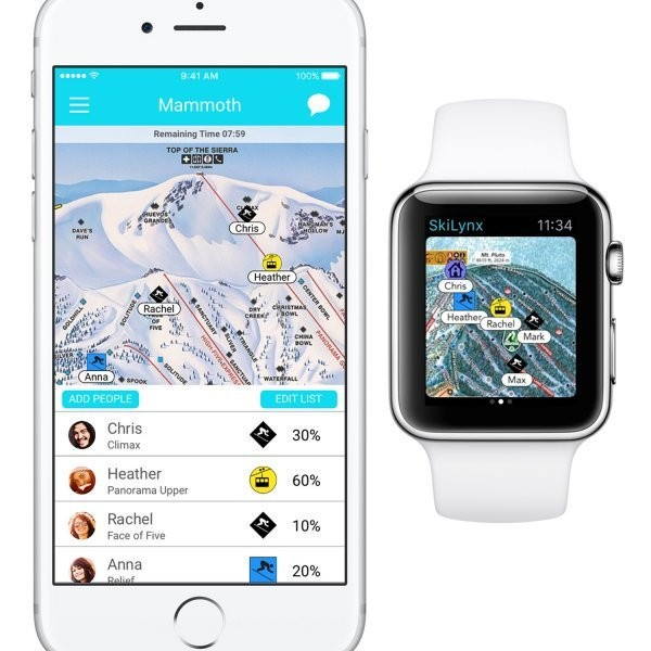 SkiLynx: the Best New Ski App for Keeping Track of Your Crew on the Hill