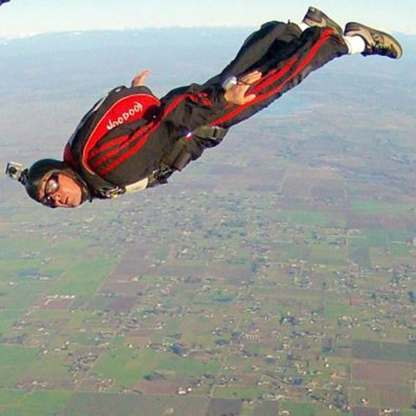 The Skydiving CEO Who Cheated Death