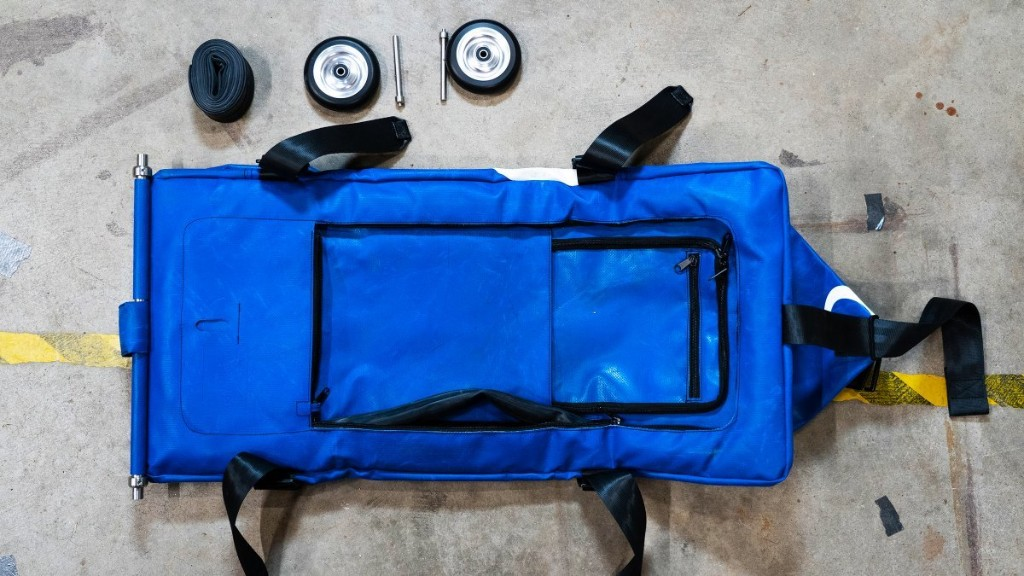 We Tested a $1,000 Inflatable Travel Bag