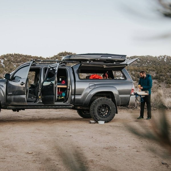Living Full-Time in a Toyota Tacoma