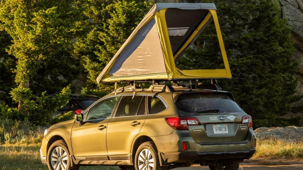Finally, a Rooftop Tent That Won't Ruin Your Car