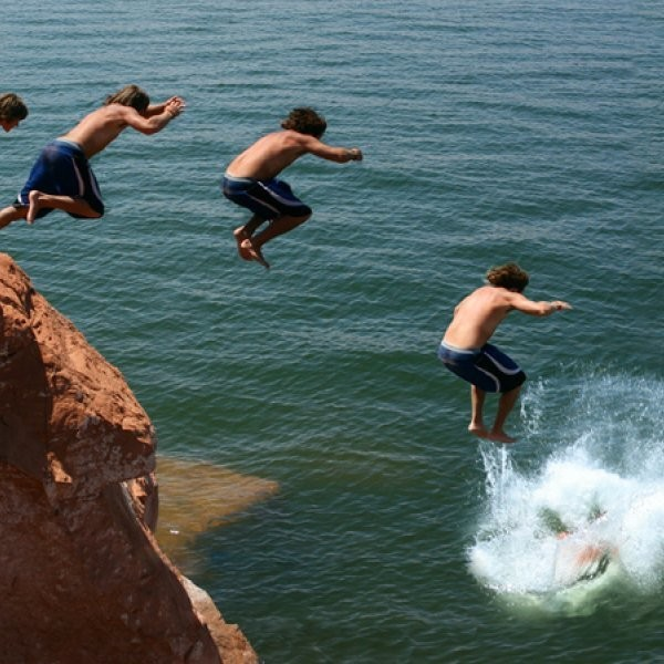 Where are the best (safe) cliffs to jump in the U.S.?