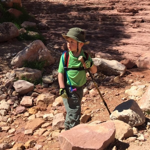 How to Get a 3-Year-Old to Hike the Grand Canyon