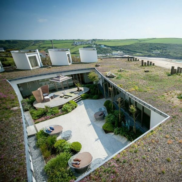 On the Edge at England's Cliffside Ecolodge