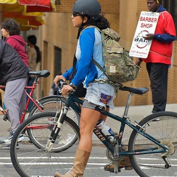 Study: Bike Lanes Don't Hurt Business