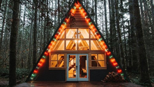 The A-Frame Cabin That's All Over Your Instagram